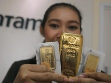 Waduh, Harga Emas Antam Hari Ini Anjlok Rp 9.000/Gram