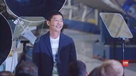 VIDEO: Miliarder Asal Jepang, Turis Pertama Keliling Bulan