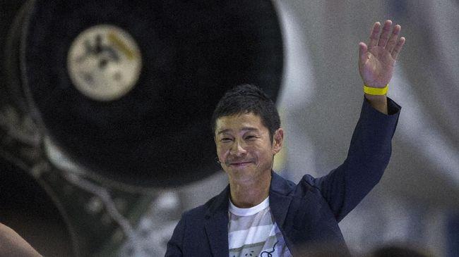 Miliarder Jepang Mulai Latihan Hidup Demi Plesir ke Bulan