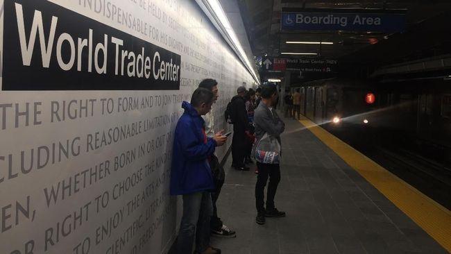 Stasiun Kereta Saksi Bisu '9/11' Kembali Beroperasi