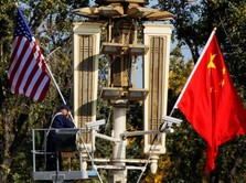 AS-China Berperang Dagang, RI Bisa Kena Getahnya