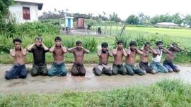 Vonis Belum Usai, Tentara Myanmar Pembunuh Rohingya Bebas