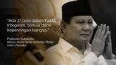 Ketua Partai Gerindra/Bakal Calon Presiden, Prabowo Subianto