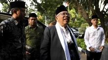 Ma'ruf Amin Usul Ada Menteri Pesantren Jika Menang Pilpres