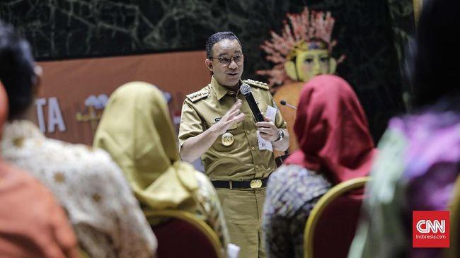Hasil Polling CNNIndonesia.com untuk Setahun Anies di DKI