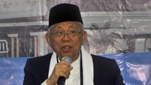 Ma'ruf Amin: Jangan Pilih Caleg Eks Koruptor
