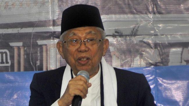Ma'ruf Amin Anggap Tagar #2019GantiPresiden Kerikil Politik