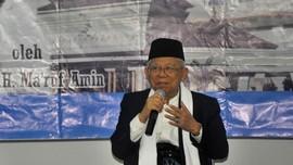 Ma'ruf Berharap 70 Persen Suara Warga Sumut Untuk Jokowi