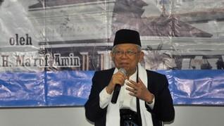 Ma'aruf Sebut Dana Tak Halal Bank Syariah Hanya untuk Sosial