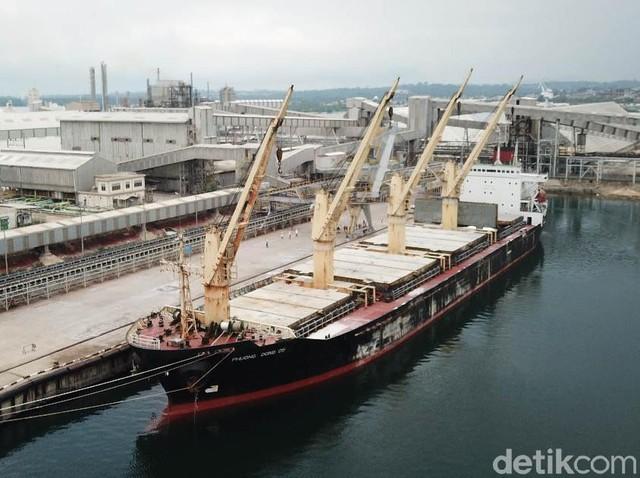 Ini Loh Kapal Raksasa Pengangkut Pupuk RI