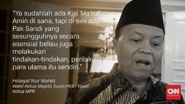 Wakil Ketua Majelis Syuro PKS, Hidayat Nur Wahid.