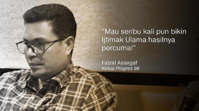 Aktivis 98 Faizal Assegaf.