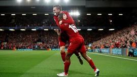 Liverpool Unggul 2-1 Atas PSG di Babak Pertama