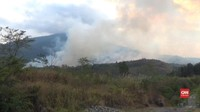 VIDEO: Kebakaran di Hutan Lereng Gunung Ciremai