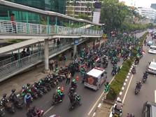 Driver Gelar Demo Hari Ini, Grab Tetap Ogah Naikkan Tarif
