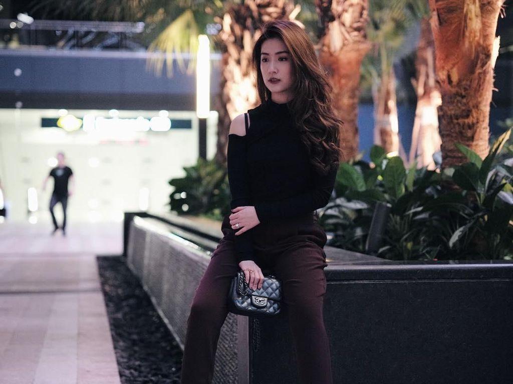 Gaya Stylish Selebgram Cantik yang Disebut CrazyRichSurabayan di Dunia Nyata