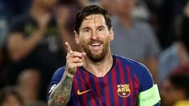4 Fakta Menarik Hattrick Lionel Messi ke gawang PSV Eindhoven