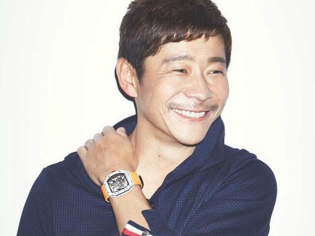 Yusaku Maezawa, Konglomerat Fashion yang Jadi Turis Pertama ke Bulan