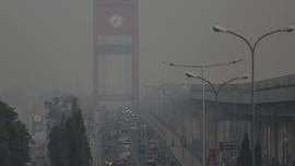 FOTO: Sumatera Selatan Dikurung Kabut Asap