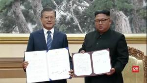 VIDEO: Jumpa Moon, Kim Jong-un Janji Akan ke Ibu Kota Korsel