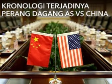 VIDEO: Kronologi Terjadinya Perang Dagang AS-China