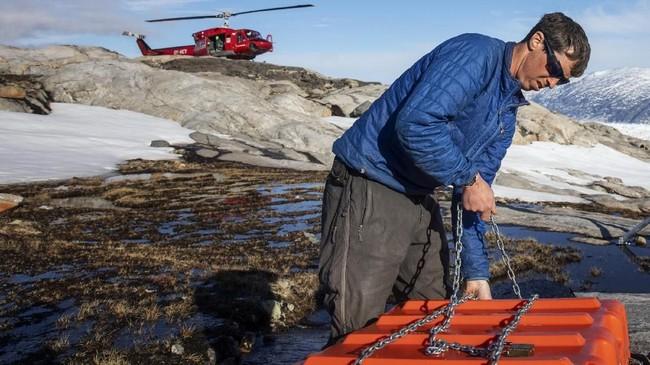 Di dunia ini hanya terdapat dua 'benua' gletser, pertama adalah Antartika dan satunya berada di Greenland.