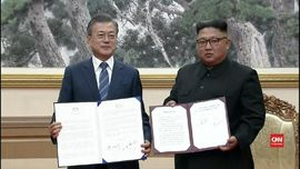 VIDEO: Pertemuan Kim Jong-un dan Moon Torehkan Sejarah Baru