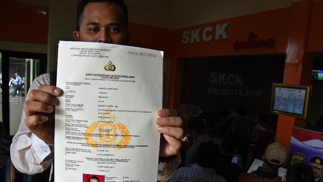 Polri Biaya Penerbitan Skck Rp30 Ribu