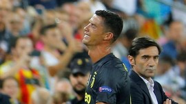Cristiano Ronaldo Dapat Kartu Merah Pertama di Liga Champions