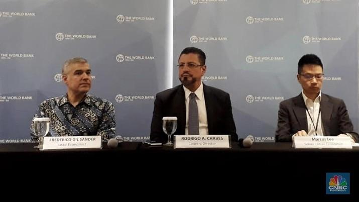 Bank Dunia (World Bank/WB) menilai Indonesia bisa memanfaatkan momentum perang dagang untuk menggenjot ekspor barang konsumen.