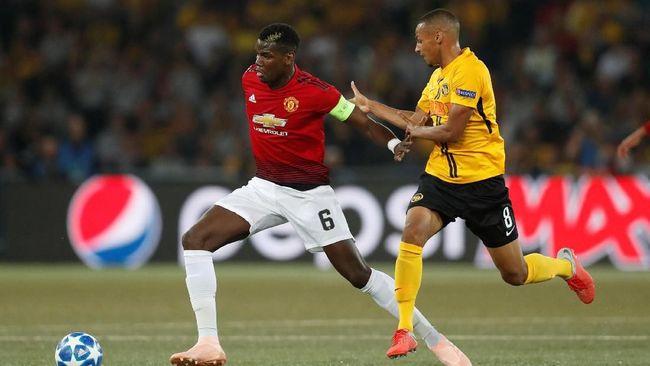 Manchester United Menang Telak Atas Young Boys