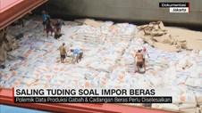 Saling Tuding Soal Impor Beras