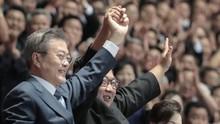 Bertemu Kim Jong-un, Popularitas Moon Jae-in Meroket