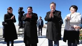 Daki Gunung dengan Kim Jong-un, Mimpi Moon Jae-in Terwujud