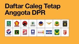 INFOGRAFIS: Daftar Calon Wakil Rakyat 2019-2024