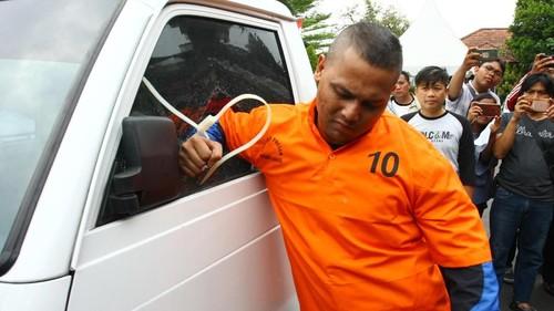 Dede 'Idol' Ditangkap Polisi