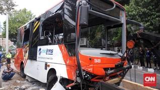 Hingga Oktober, Bus Transjakarta Sudah 44 Kali Kecelakaan