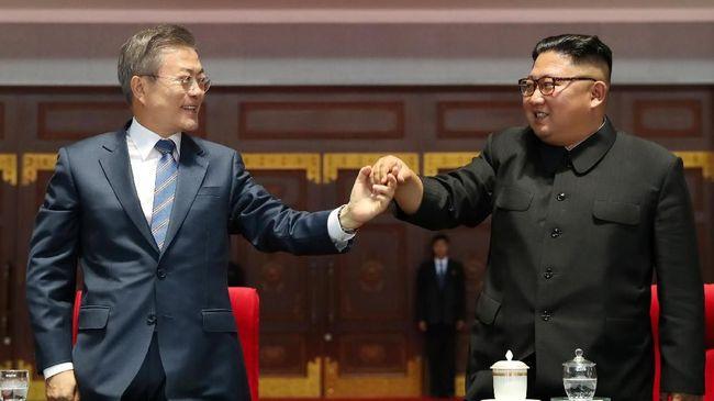 Demi Denuklirisasi, Moon Rela Temui Kim Jong-un di Mana Saja