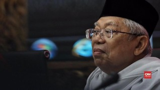 Ma'ruf Absen Kampanye dan Potensi Dingin Mesin Politik Jokowi