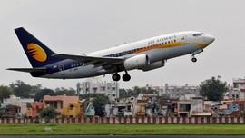 Gagal Disuntik Modal, Sayap Terbang Jet Airways 'Patah Arang'