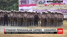 Polri Siapkan Standar Pengawalan Capres-Cawapres