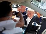 Trump Kunjungi Korban Badai Florence di Carolina Selatan