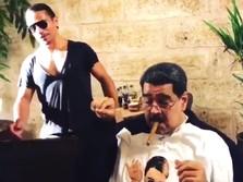 Rakyat Kelaparan, Presiden Venezuela Malah Makan Malam Mewah