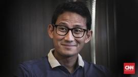 Sandiaga Tak Persoalkan Nomor Urut di Pilpres 2019