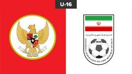 LIVE: Timnas Indonesia U-16 vs Iran