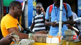 VIDEO: Uang Kertas Liberia Senilai Rp1,5 Triliun Raib