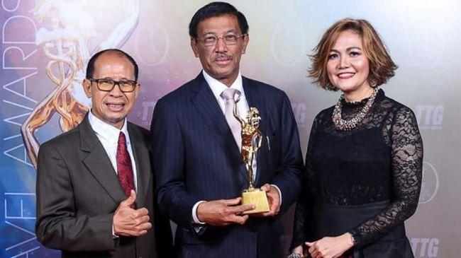 Kemenpar Raih Penghargaan Bergengsi di TTG Travel Awards