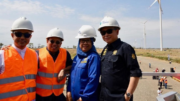 Jonan mengapresiasi cepatnya progress pembangunan PLTB Jolo I yang saat ini telah mencapai 96%