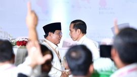 Adu Kasak-Kusuk Citra Jokowi dan Prabowo di Media Sosial