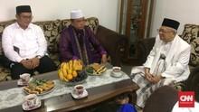 Resmi Cawapres, Ma'ruf Amin Minta Dukungan Eks Ketua MUI DKI